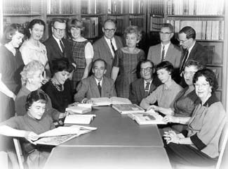 Library_school_faculty_1960s